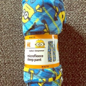 Minions Microfleece Sleep Pants